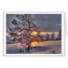 Sunset in the Black Forest Karte