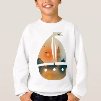 Sunset_sail Boot Sweatshirt