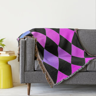 Sunset-Square-Blvd-Diamond's-Blanket-Unisex Decke