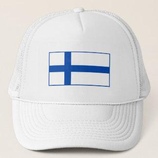 Suomen Lippu Lippalakit - die Flagge von Finnland Truckerkappe
