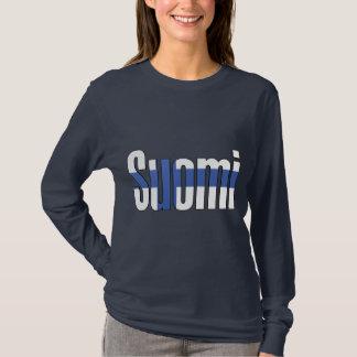 Suomi (Finnland) Flaggen-T - Shirt