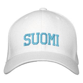 SUOMI (Finnland) Wolle-Kappe Bestickte Baseballkappe