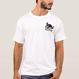 SUP HUND 8 - vordere Tasche und Rückseite T-Shirt