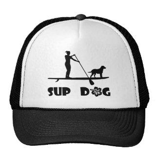 SUP Hund stehend Trucker Cap
