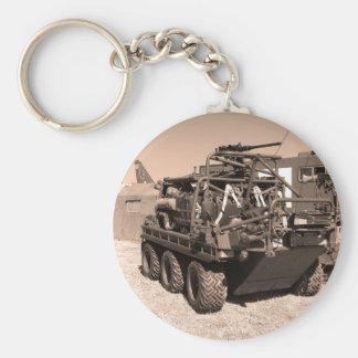 Supacat. Das alles fahrbare Armeefahrzeug des Schlüsselanhänger