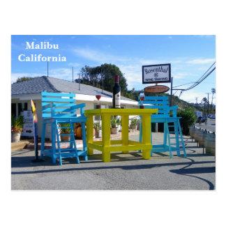 Super coole Malibu-Postkarte! Postkarte