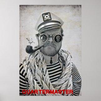 Super cooler PiratQuartermaster Poster! Poster