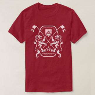 Super erstklassiger Doppellöwe-Männer T-Shirt