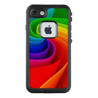Super fabelhafte Regenbogen-Illustration LifeProof FRÄ' iPhone 8/7 Hülle
