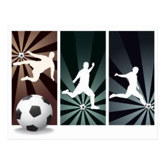 Super-fußball Postkarte