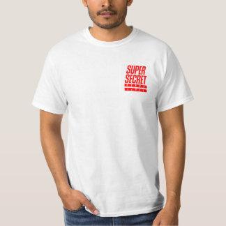 Super geheimes Prämien-Niveau - weißes T-Stück T-Shirt
