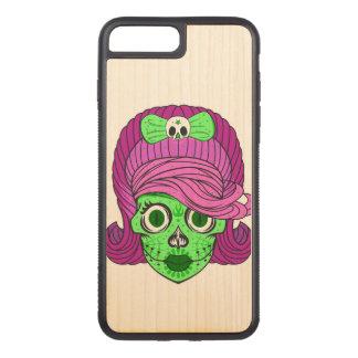 Super Girly Zuckerschädel Carved iPhone 8 Plus/7 Plus Hülle