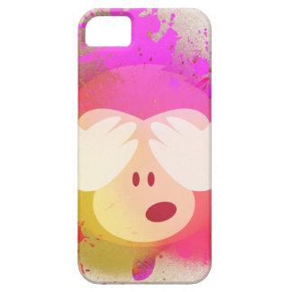 Super kreative Affe Emoji Sprühfarbe-Kunst Etui Fürs iPhone 5