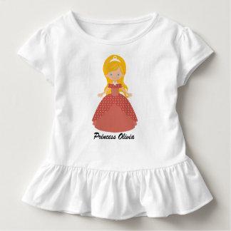 Super niedliche blonde Prinzessin Kleinkind T-shirt
