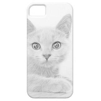 SUPER NIEDLICHE Kätzchen-Porträt-Fotografie Schutzhülle Fürs iPhone 5