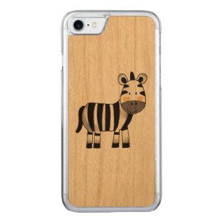 super niedlicher Zebra Carved iPhone 8/7 Hülle