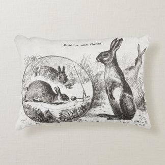 Super niedliches Vintages Kaninchenhäschen Zierkissen
