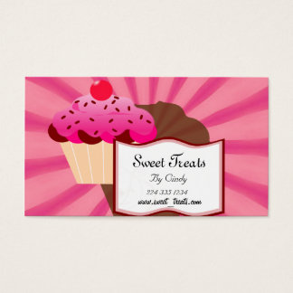 Super süße Kuchen-Bäckerei Visitenkarte