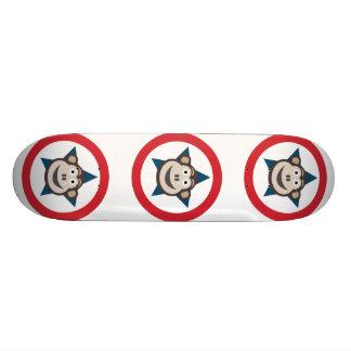 Superaffe-Skateboard 21.6cm Skateboarddecks