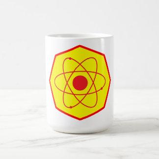 Superatom-Emblem Kaffeetasse