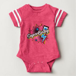SuperBABY Superhero-Comicbodysuitbaby-Geschenk Baby Strampler