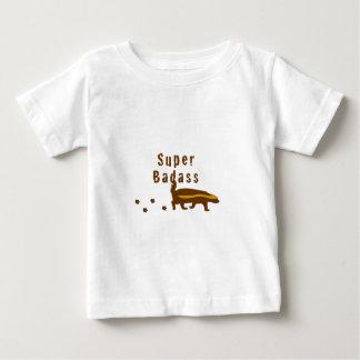 SuperBadass Honig-Dachs Baby T-shirt