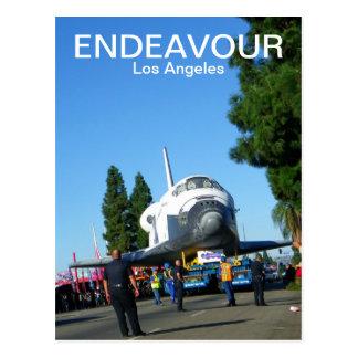 Superbemühung/Los Angeles-Postkarte! Postkarte