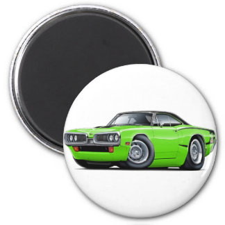 Superbiene 1970 Limon-Schwarzer Runder Magnet 5,1 Cm