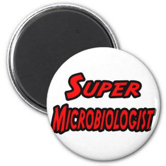 Superbiologe Runder Magnet 5,7 Cm