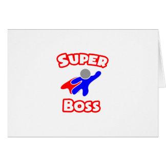Superchef Grußkarte