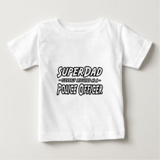 SuperDad… Polizeibeamte Baby T-shirt