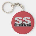 Superduper Sportrot Schlüsselband