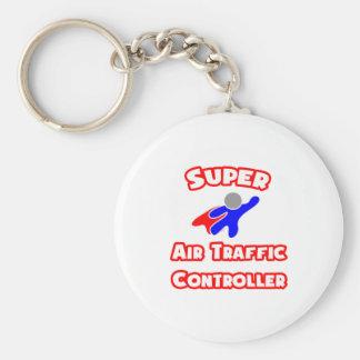 SuperFluglotse Standard Runder Schlüsselanhänger