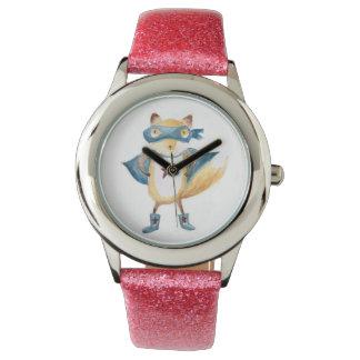 SuperFox! Armbanduhr