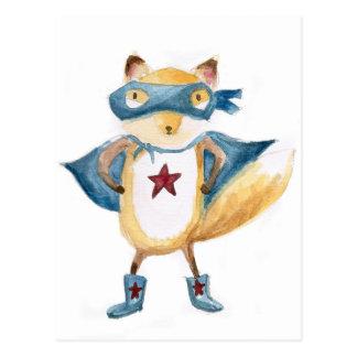 SuperFox! Postkarte