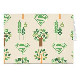 Supergirl Bäume Karte
