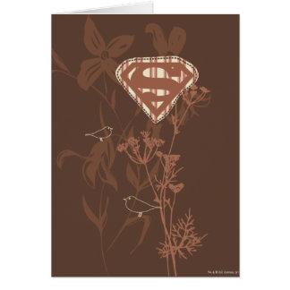Supergirl Brown Vogel Karte
