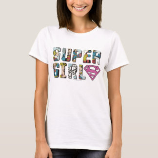 Supergirl Comic-Logo T-Shirt