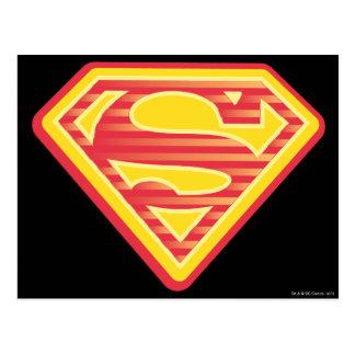 Supergirl Far-Out Logo Postkarte