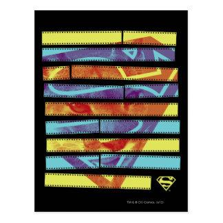 Supergirl Filmstrip Postkarte