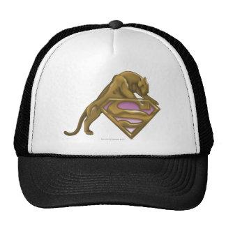 Supergirl goldene Katze Truckerkappe