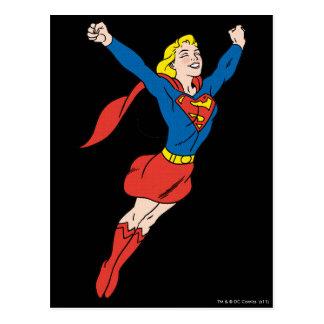 Supergirl Pose 6 Postkarte