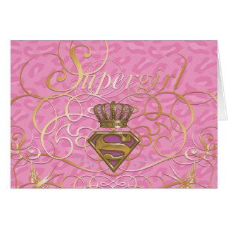 Supergirl Rosa Karte