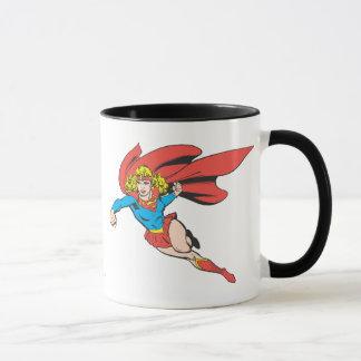 Supergirl Sprünge und Durchschläge Tasse