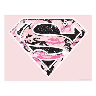 Supergirl Tarnungs-Logo Postkarte