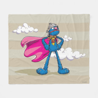 SuperGrover Fleecedecke