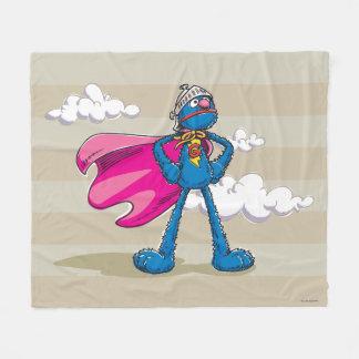 SuperGrover Fleecedecke