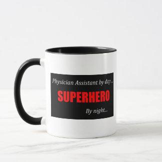 Superheld-Arzt-Assistent Tasse