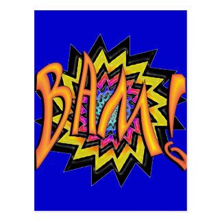Superheld Bam! Postkarten