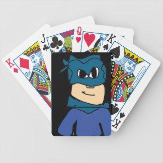 Superheld Bicycle Spielkarten